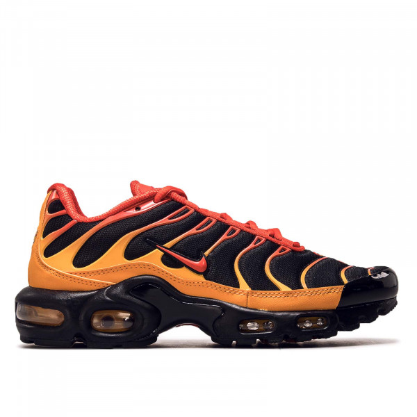 Unisex Sneaker Nike Air Max Plus Black Chile Red Vivid