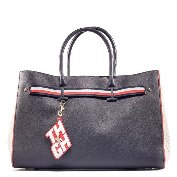 Tommy Bag Gigi Hadid Tote Navy Bright Wh