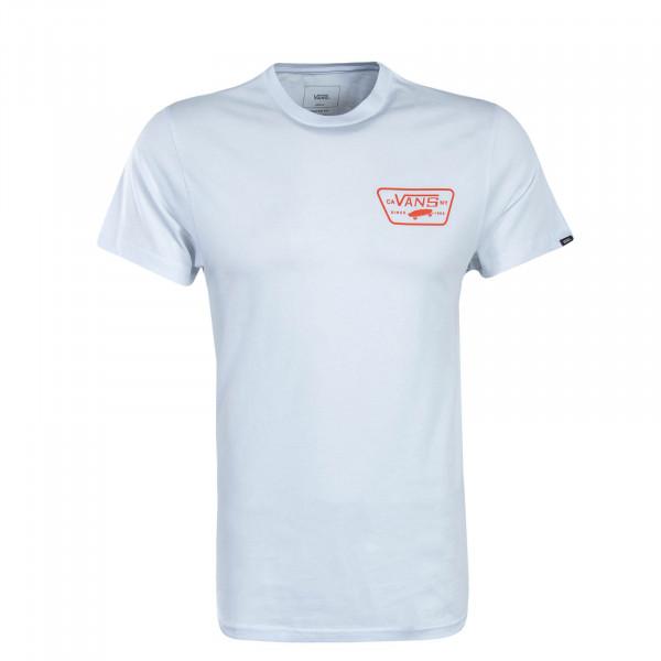 Damen T-Shirt Allison White Navy