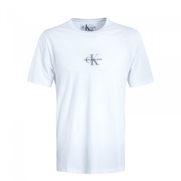 Herren T-Shirt Small Chest Monogram 4267 White