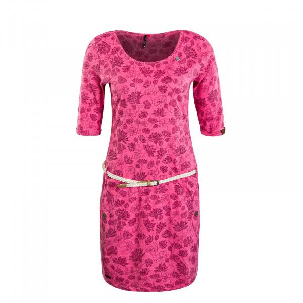Damenkleid Tanya Flowers Pink