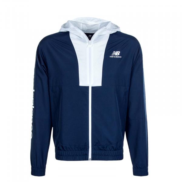 Herren Jacke New Balance Athletics Select MJ01502 Indigo