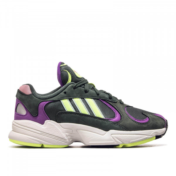 Adidas U Young-1 Green Yellow Lila