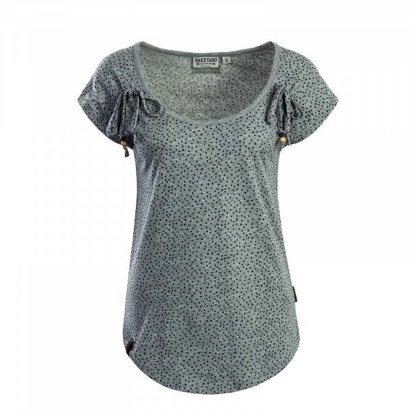 Damen T-Shirt Rooftop Bangbang Grey