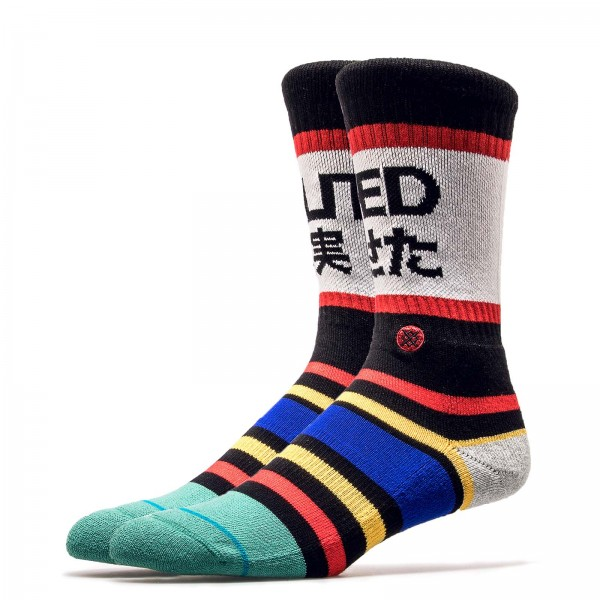 Stance Socks Fade Out Black Blue Red
