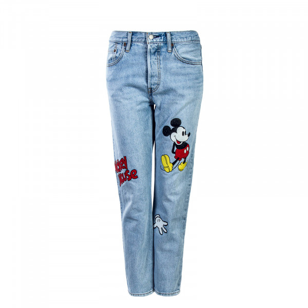 Levis Wmn 501 Original Crop Cat And Mous