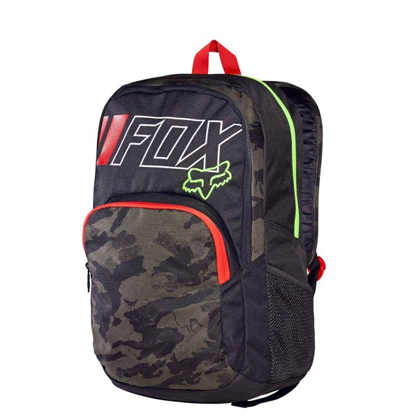 Fox Backpack Lets Ride Black Green Camo