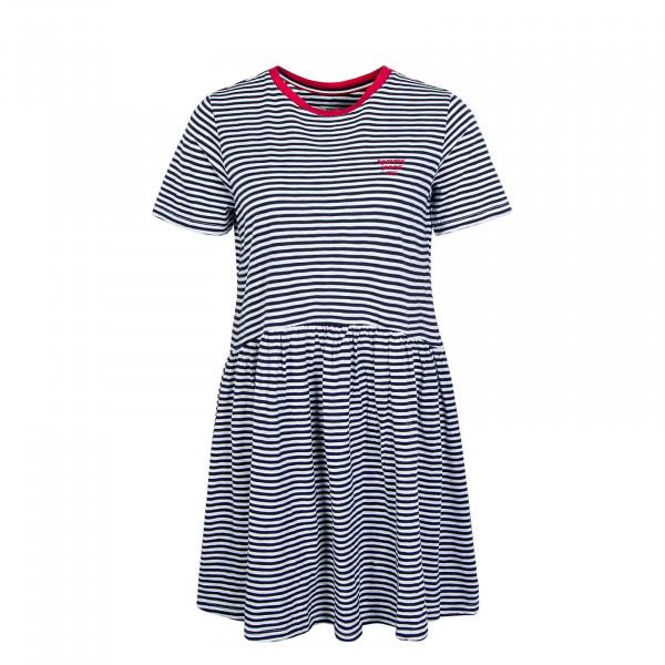 Kleid 7924 Stripe Navy White