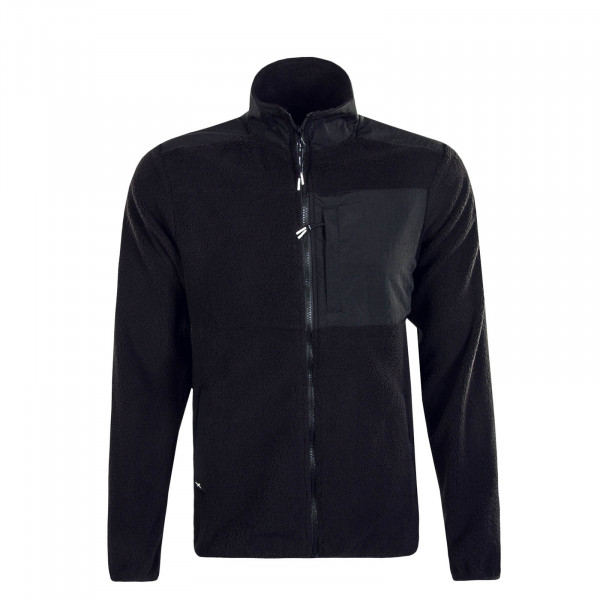 IHerren Jacke HikestellerTrack Fleece Black