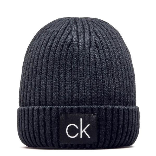 CK Beanie Rib 4096 Black