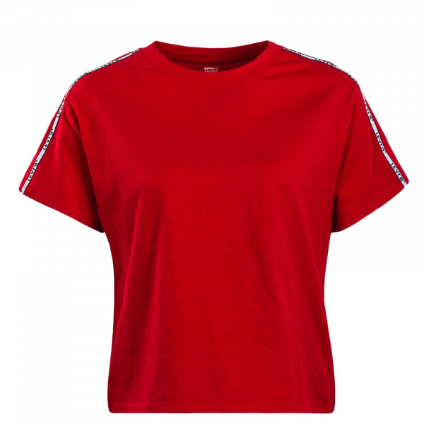 Damen T-Shirt Varsity Brilliant Red
