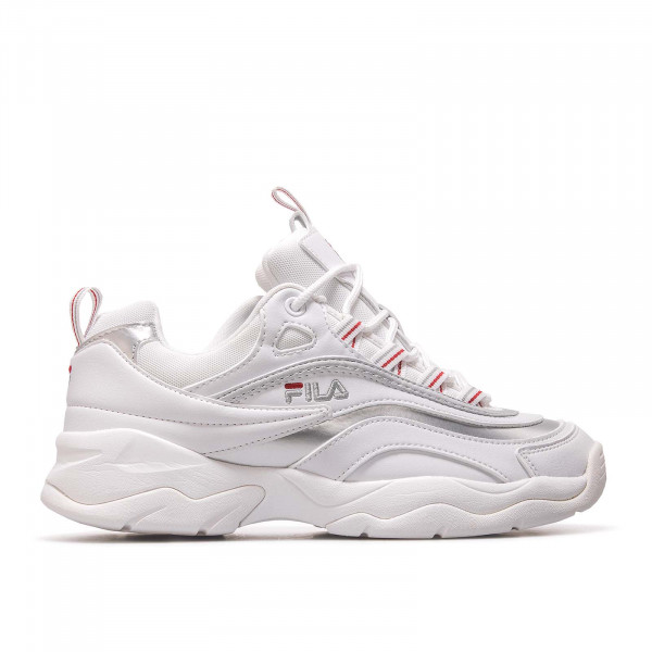 Fila Wmn Ray Low White Silver