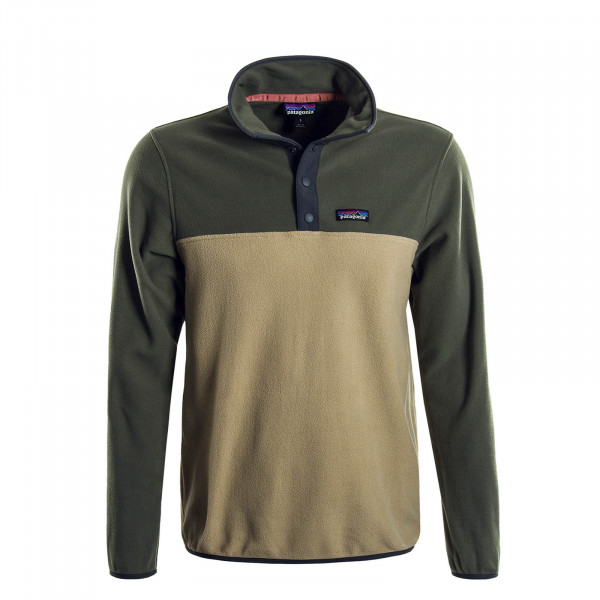 Herren-Sweatshirt Fleece Micro Green Beige
