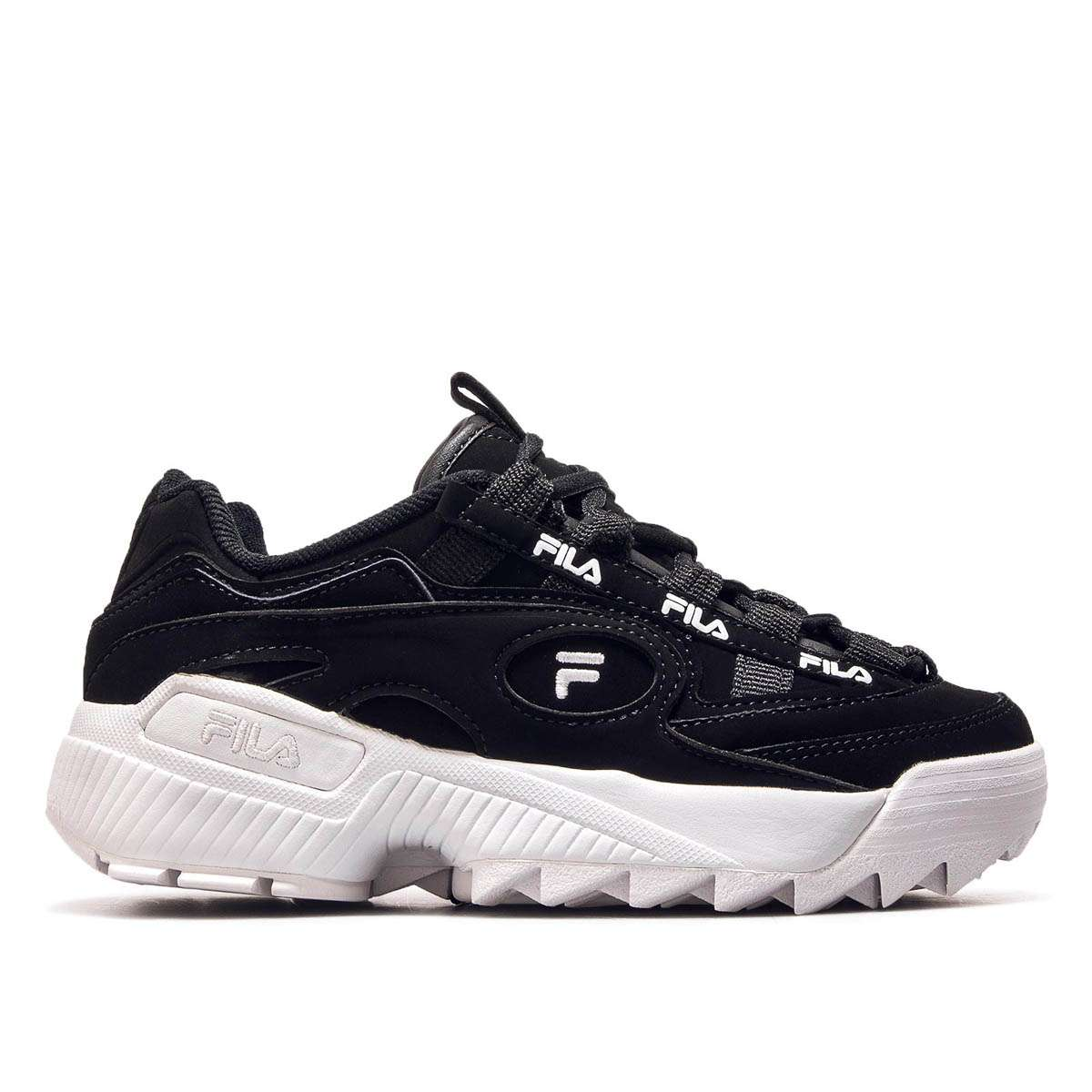 fila D Formation Heritage WOMENS BLACKWHITEFILA RED bei