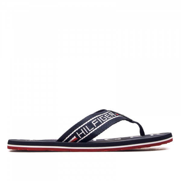 Herren Slide Seasonal Stripe Navy