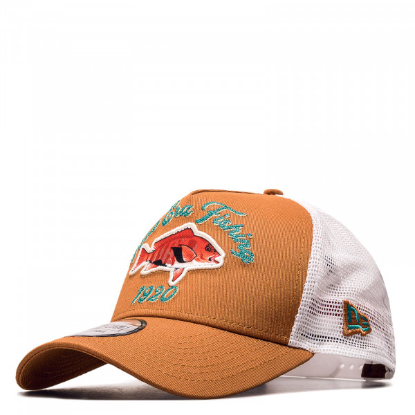 Unisex Cap - Fishing Trucker - Orange