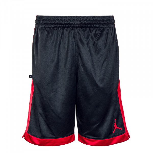 Herren Short Jumpman Shimmer Black Red