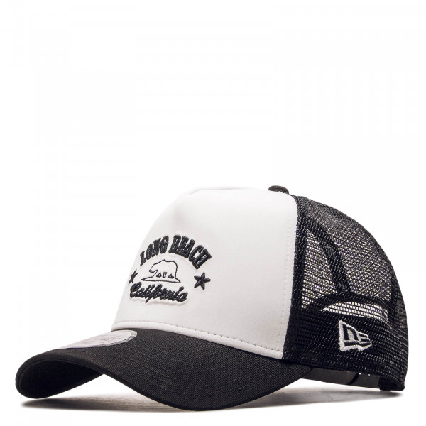 Cap Trucker Destination White Black
