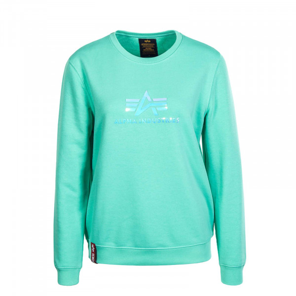 Damen Sweater Rainbow Pastel Mint