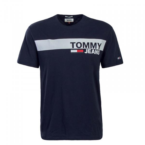 Tommy TS TJM Essential Box Logo Navy Wht