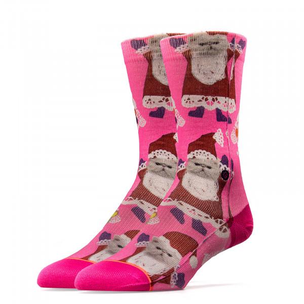 Stance Wmn Socks Santipaws Pink