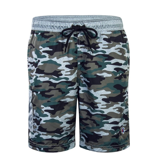 Champion Beachshort Camo Olive Grey