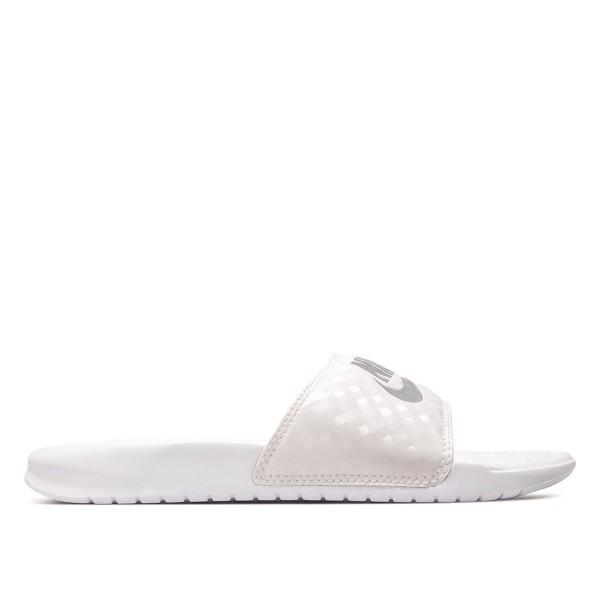 Nike Wmn Schlappe Benassi JDI White