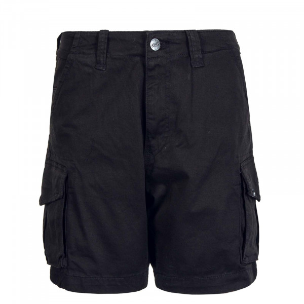 Herren Cargo Shorts City ST Black