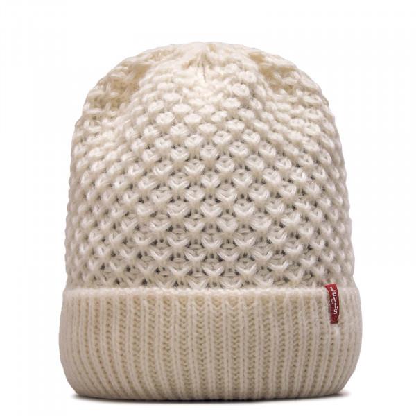 Beanie Classic Knit Cream