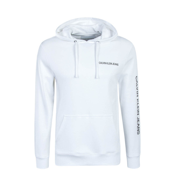 CK Hoody Institutional White
