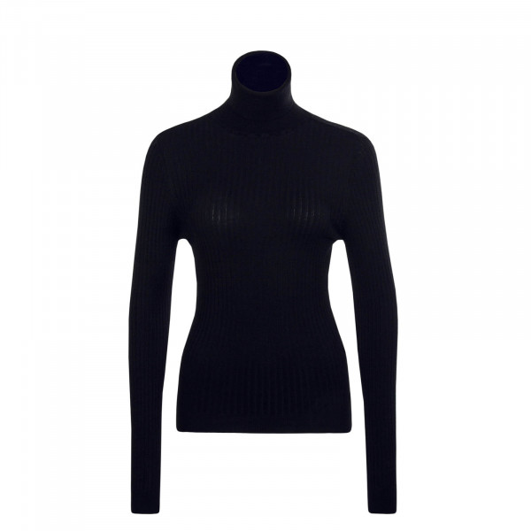 Damen Longsleeve  Roll Karol Black