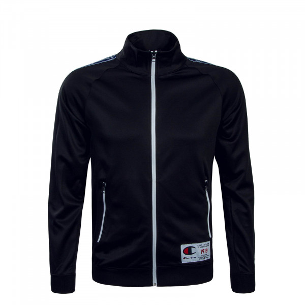 Herren Trainingsjacke 2427 Black White