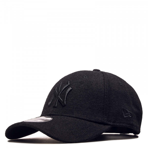 Cap 9 Forty NY Melton Black Black