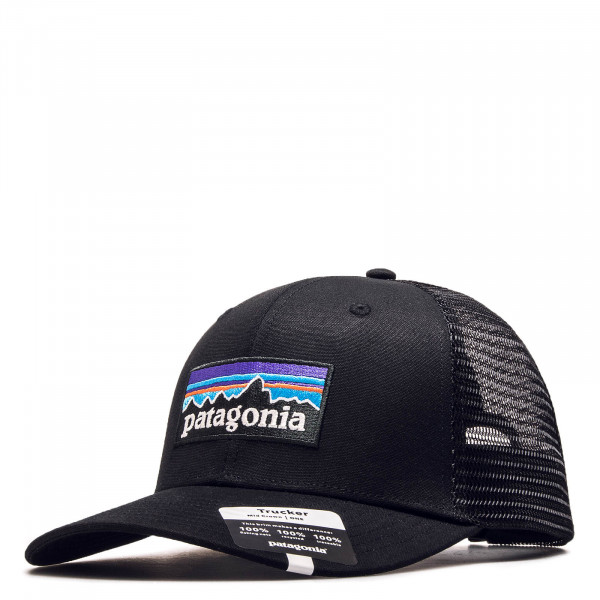 Cap Trucker P 6 Logo Black