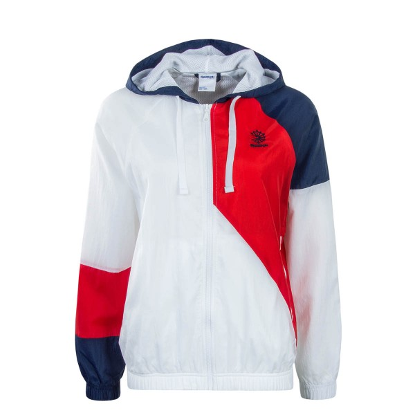 Damen Windbreaker White