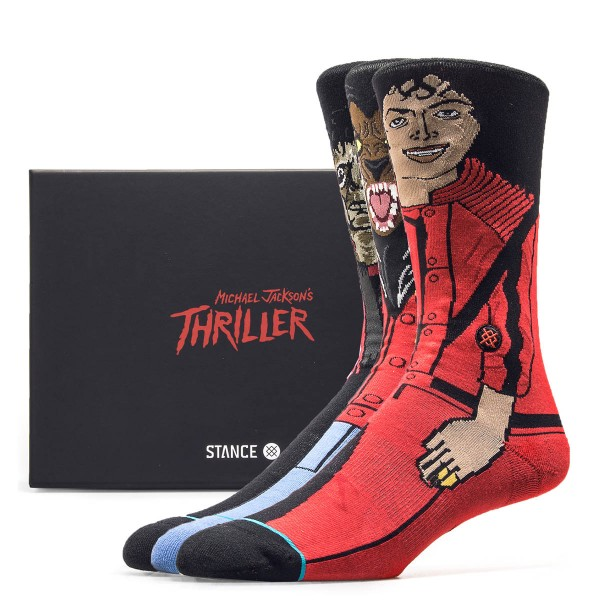 Stance Socks 3 Pack Michael J. Thriller
