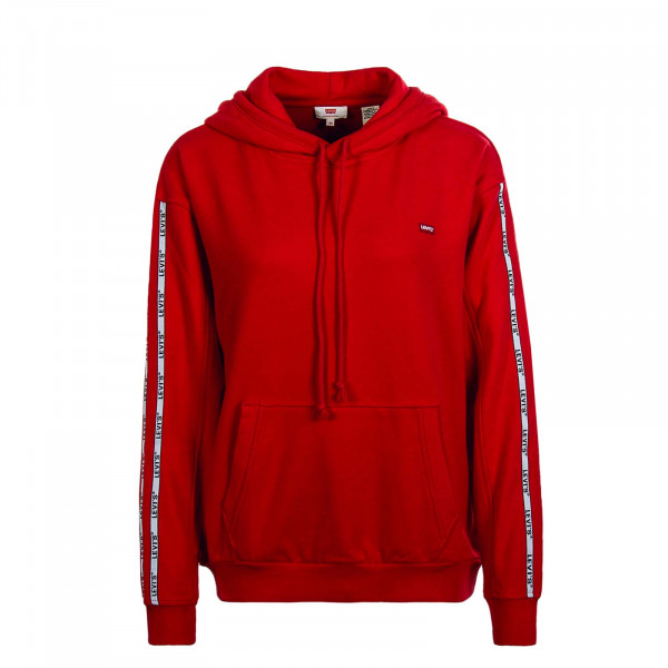 Damen Hoody Brilliant Red