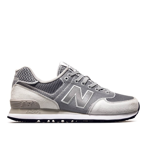 New Balance ML 574 EMW Silver Grey