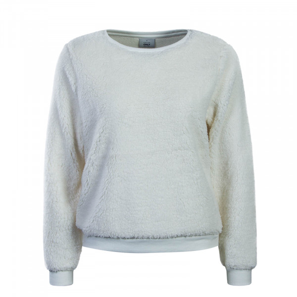 Damen Sweatshirt Fleece Off White