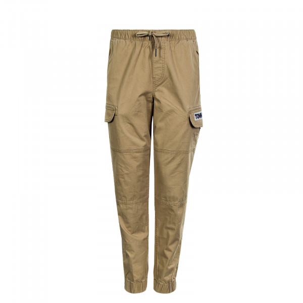 Herrenhose Cargo Pant Tapered Cuffed Khaki