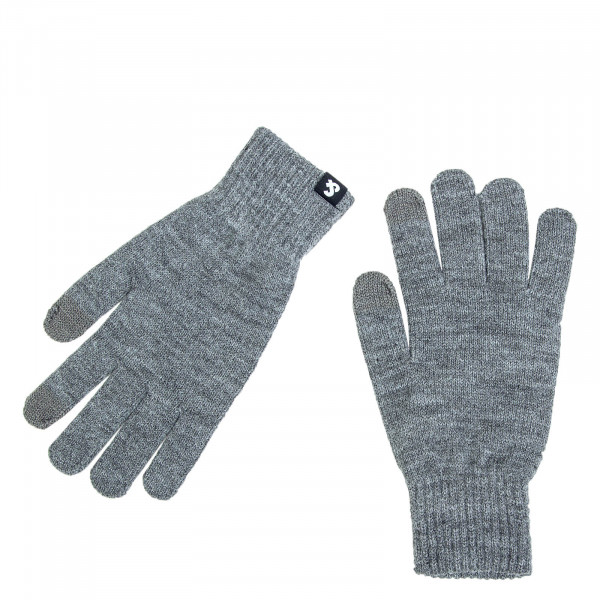Handschuhe Barry Knit Grey Melange