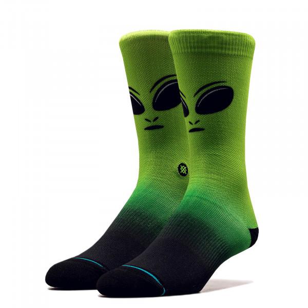 Unisex Socken Leader Neon Green Black