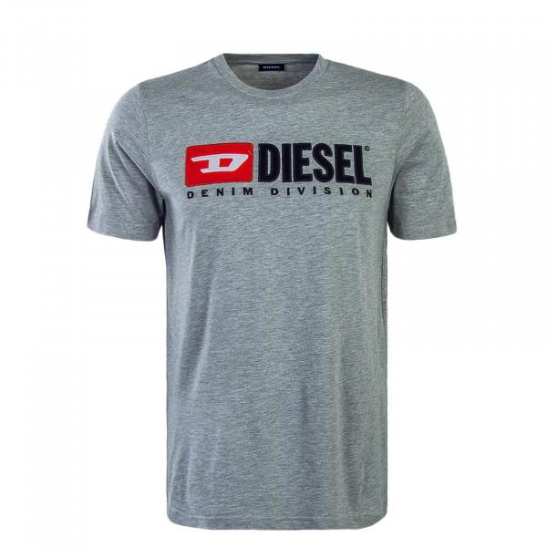 Diesel T-Shirt Just Division Grey