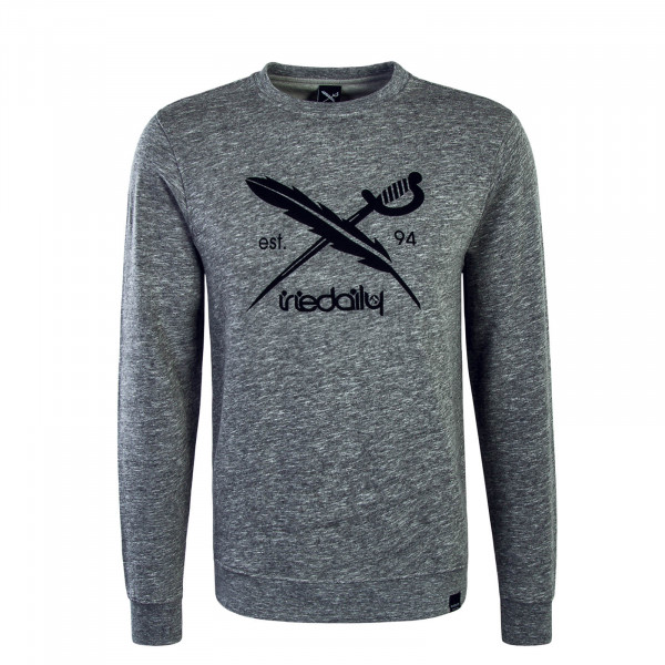 Herren Sweatshirt Chamiso 2 Logo Grey