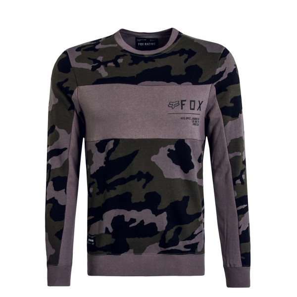 Herren Sweat Non Stop Camouflage Grey