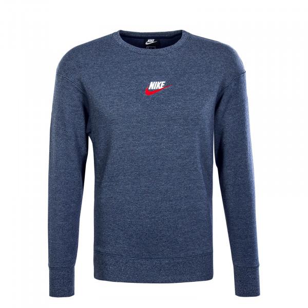 Herren Sweatshirt Heritage 928427 Navy Melange