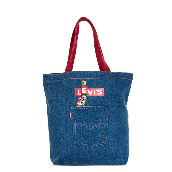 Bag Nintendo Pocket Tote Jeans Blue