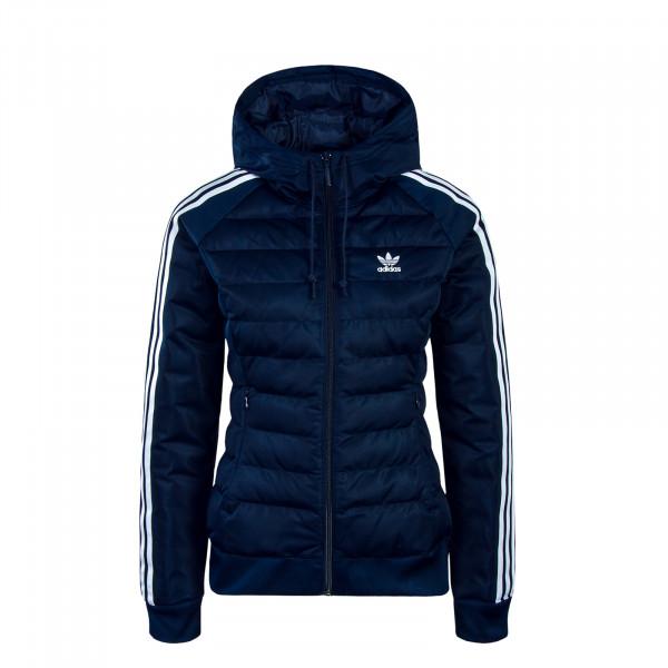 Adidas Wmn Jkt Slim Navy White