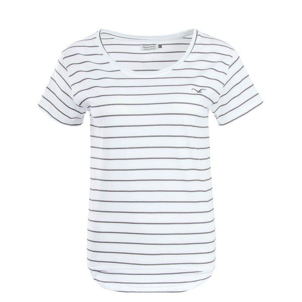 Cleptomanix Wmn TS Harbour  Stripe White