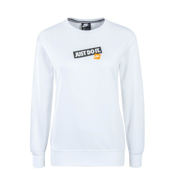 Nike Wmn Sweat NSW Crew FT JDI White